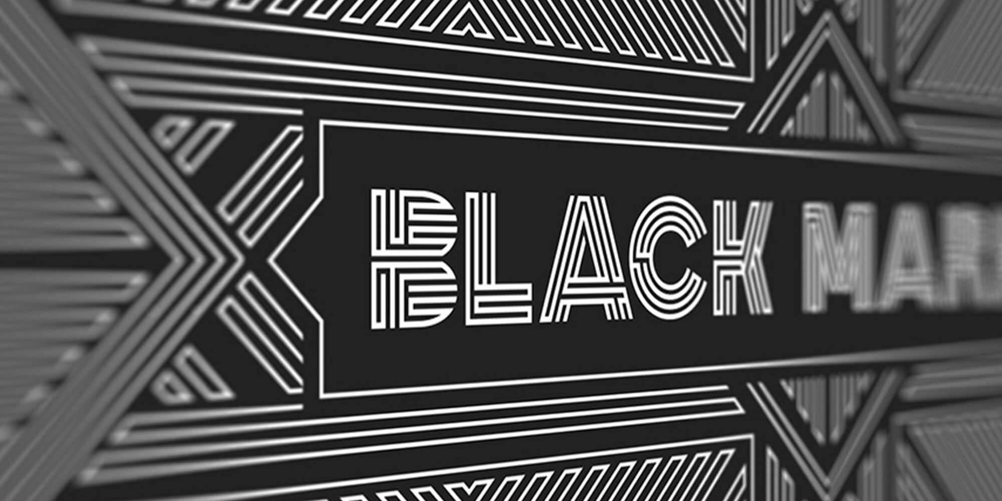 Black Market Logo Design, Boise