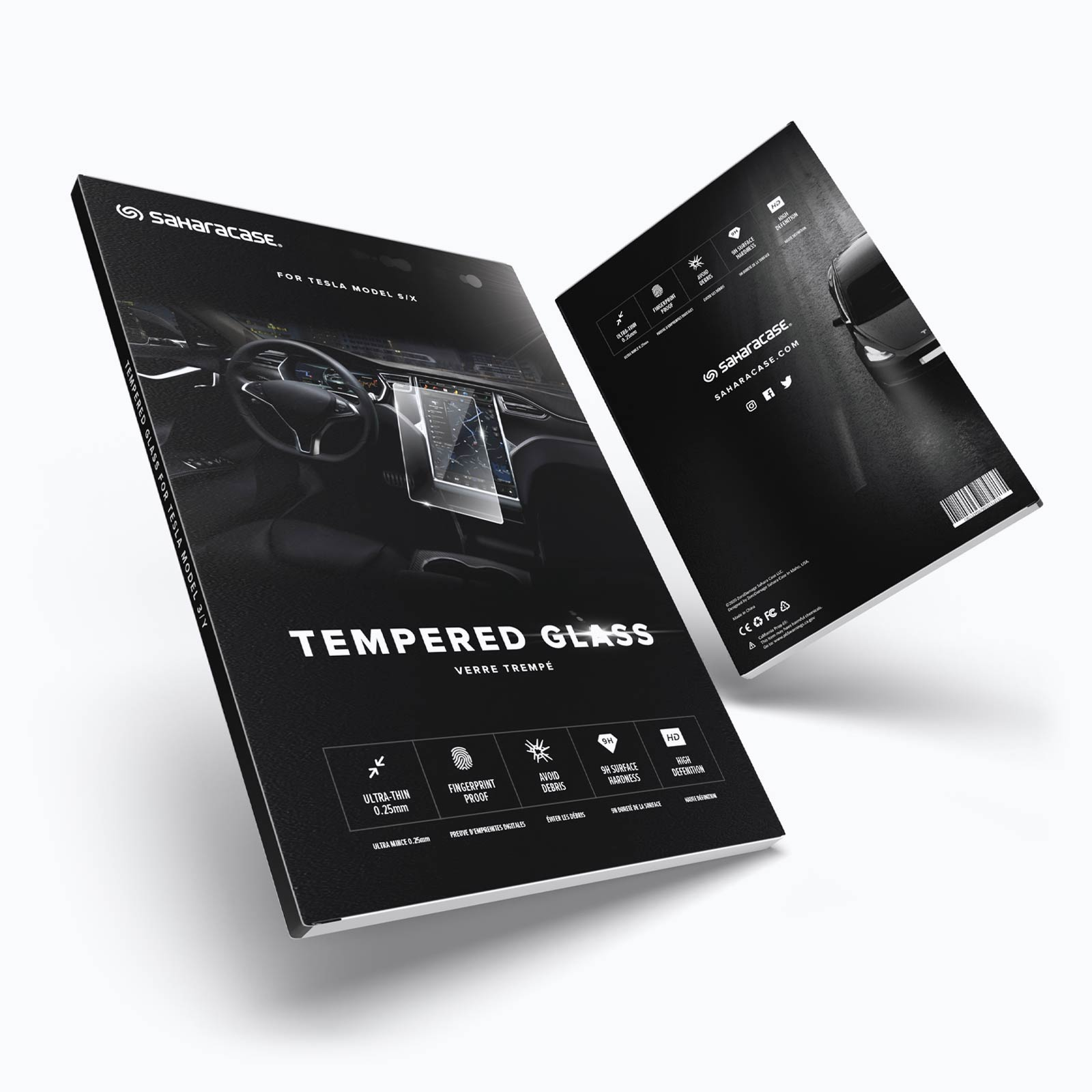 Tempered Glass Packaging Design
