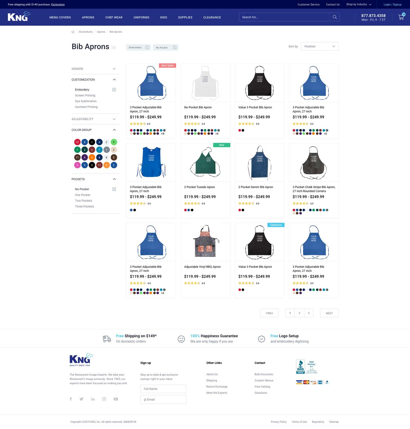 ecommerce website design meridian, idaho