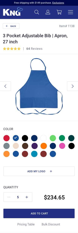 e-commerce mobile page design